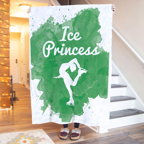 Figure Skating Premium Blanket - Ice Princess