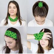 Multifunctional Headwear - Shamrock Pattern RokBAND