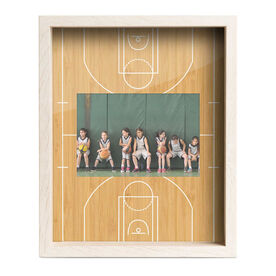 Basketball Premier Frame - Court