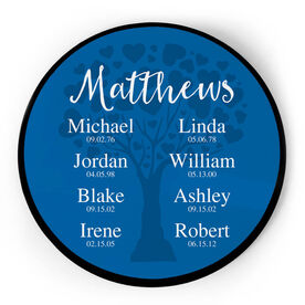 Personalized Circle Plaque - Family Togetherness