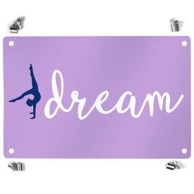 Gymnastics Metal Wall Art Panel - Dream