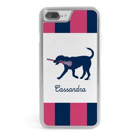Girls Lacrosse iPhone® Case - LuLaLax Logo