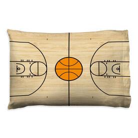 Basketball Pillowcase - Court