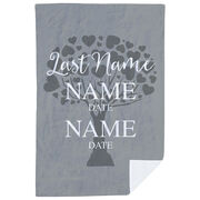 Personalized Premium Blanket - Family Togetherness