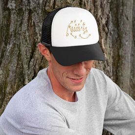 Football Trucker Hat The Play