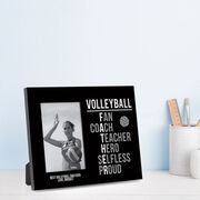 Volleyball Photo Frame - Volleyball Father Words