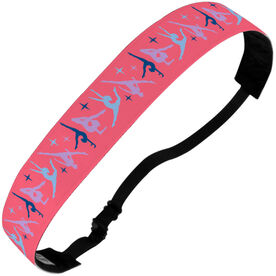 Gymnastics Julibands No-Slip Headbands - Gymnastics Pattern