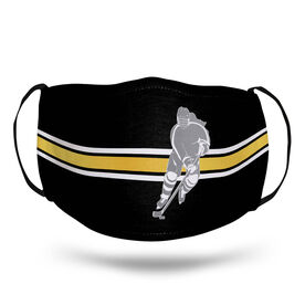 Hockey Face Mask - Girl Player Stripe