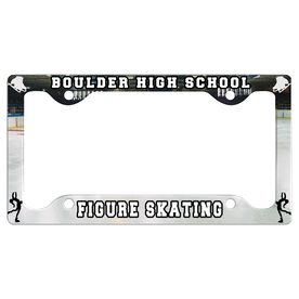 Custom Figure Skating Team License Plate Holders
