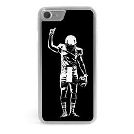 Football iPhone® Case - Number One Player [Black/iPhone 8 or 7] - SS