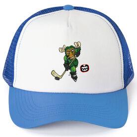 Seams Wild Hockey Trucker Hat - Chantler