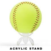 Add an Acrylic Softball Display Stand