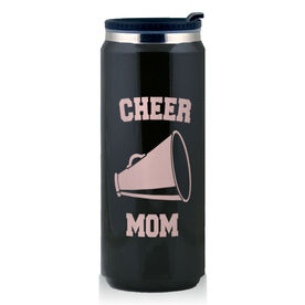 Stainless Steel Travel Mug Cheer Mom