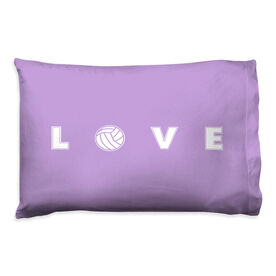 Volleyball Pillowcase - LOVE Volleyball