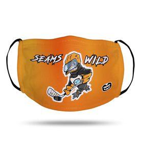 Seams Wild Hockey Face Mask - Chinstrap
