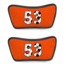 Soccer Repwell™ Sandal Straps - Custom Soccer Number