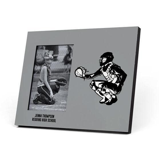 Softball Photo Frame - Catcher