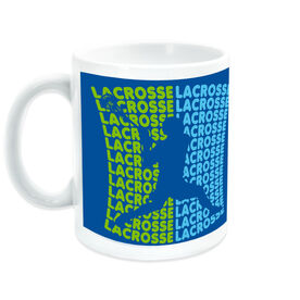 Guys Lacrosse Coffee Mug All Lacrosse