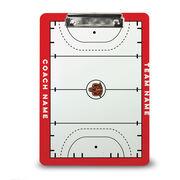 ChalkTalk Field Hockey Custom Coaches Dry Erase Clipboard