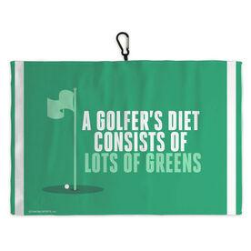 Golf Bag Towel Golfers Diet