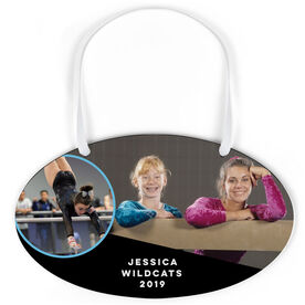 Gymnastics Oval Sign - Team and Player Photo