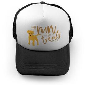 Running Trucker Hat Will Run For Treats