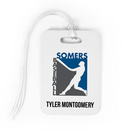Baseball Bag/Luggage Tag - Custom Logo