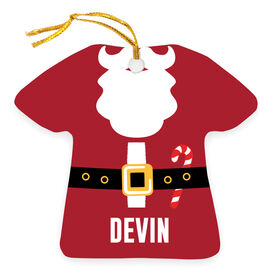 Personalized Ornament - Santa Outfit