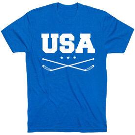 Hockey T-Shirt Short Sleeve - USA Hockey