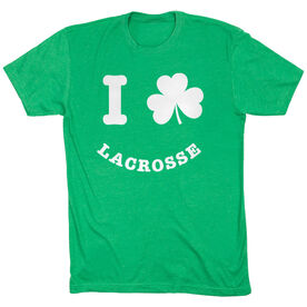 Lacrosse Short Sleeve T-Shirt - Shamrock Lacrosse Smile