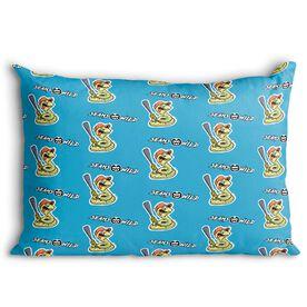Seams Wild Baseball Pillowcase - Rattleshake (Pattern)