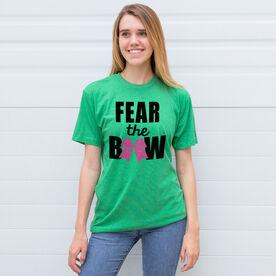 Cheerleading Tshirt Short Sleeve Fear the Bow