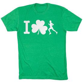 Running Short Sleeve T-Shirt - I Shamrock Male Runner