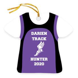 Track & Field Ornament - Team Singlet