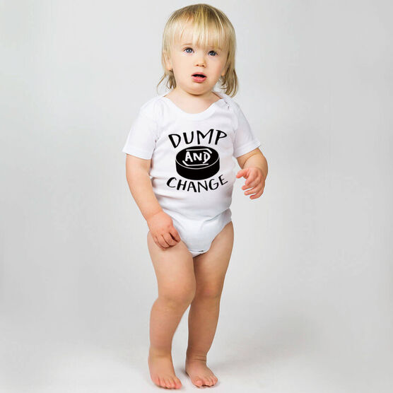 Hockey Baby One-Piece - Dump and Change