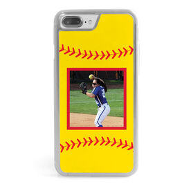 Softball iPhone® Case - Ball Your Photo