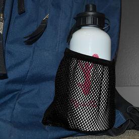 Cheerleading 20 oz. Stainless Steel Water Bottle - Cheerleader Silhouette
