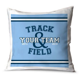 Track and Field Throw Pillow Track Track and Field Team