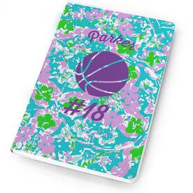 Basketball Notebook Flower Power