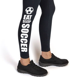 Soccer Leggings - Eat Sleep Soccer