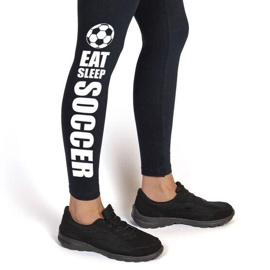 Soccer Leggings - Eat Sleep Soccer