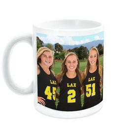 Lacrosse Coffee Mug Custom Photo