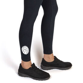 Volleyball Leggings - Volleyball Icon