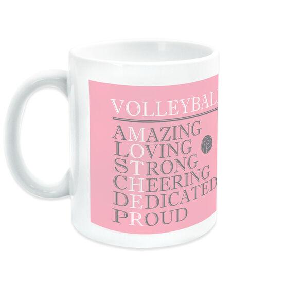 Volleyball Coffee Mug - Mother Words