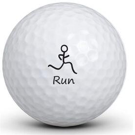 Run Figure Golf Balls