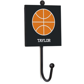 Basketball Medal Hook - Basketball With Name