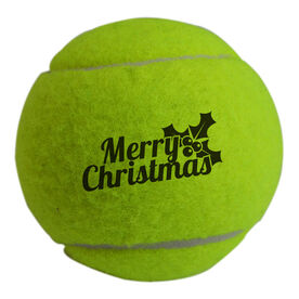 Merry Christmas Tennis Ball