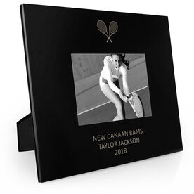Tennis Engraved Picture Frame - Tennis Rackets