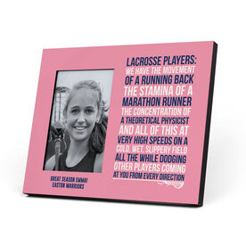 Girls Lacrosse Photo Frame - Lacrosse Players