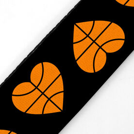 Basketball Julibands No-Slip Headbands - Basketball Hearts